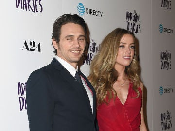 James Franco y Amber Heard