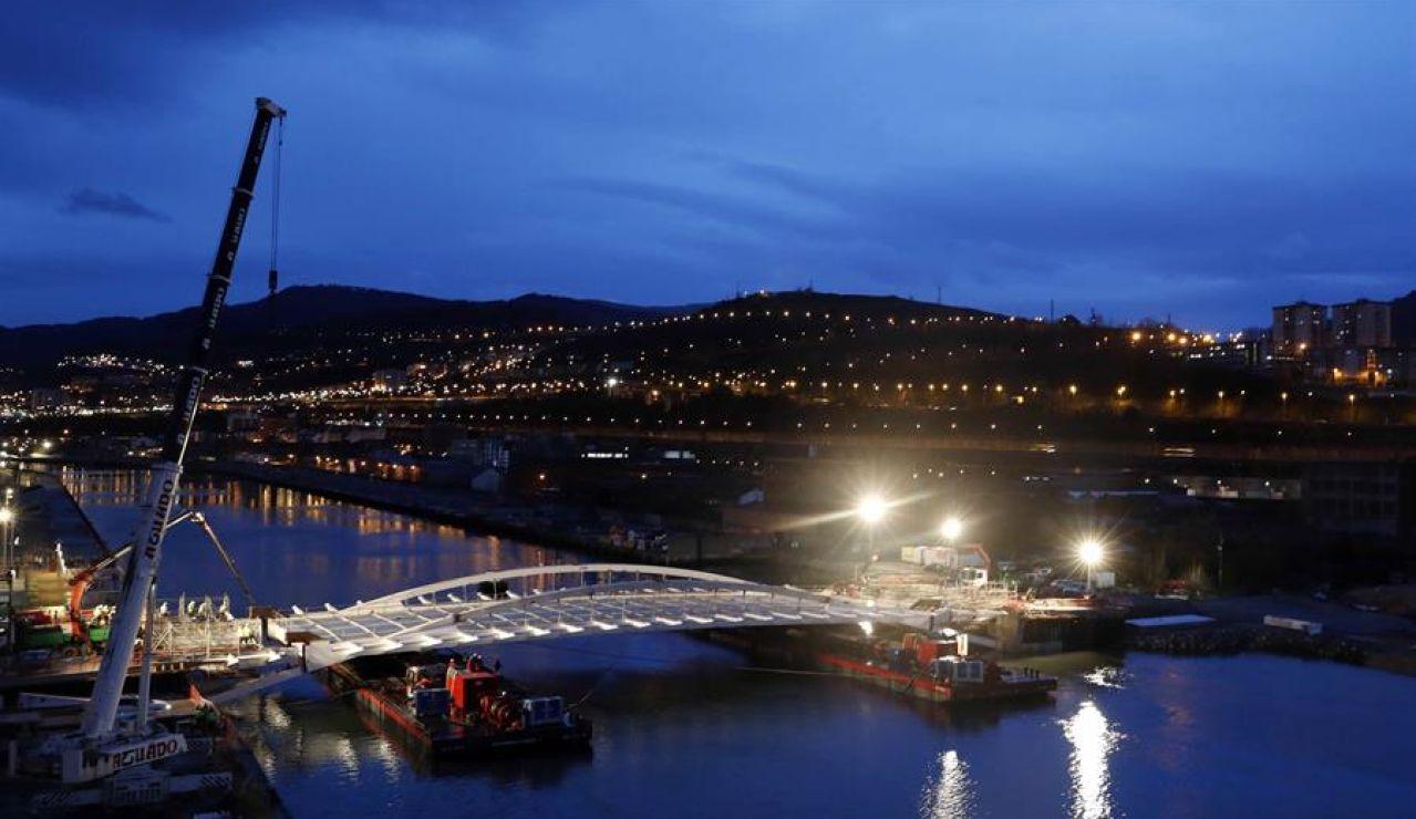 Nuevo puente en Bilbao