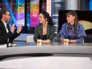 ¿Se puede estar enamorada de dos personas a la vez? Verónica Sánchez e Irene Arcos se sinceran en 'El Hormiguero 3.0'