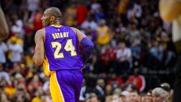 Kobe Bryant, durante un partido