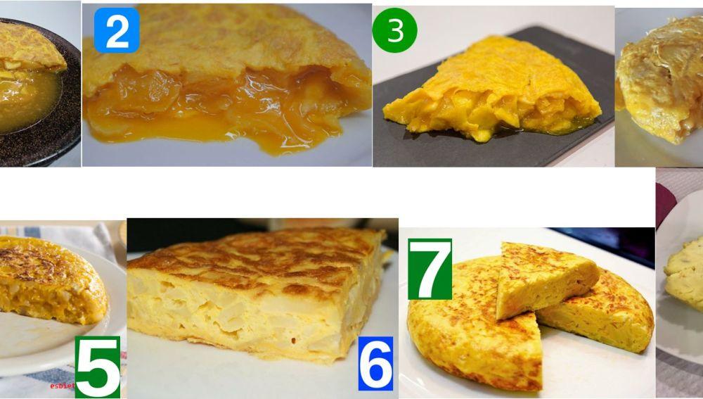 Ranking de tortillas