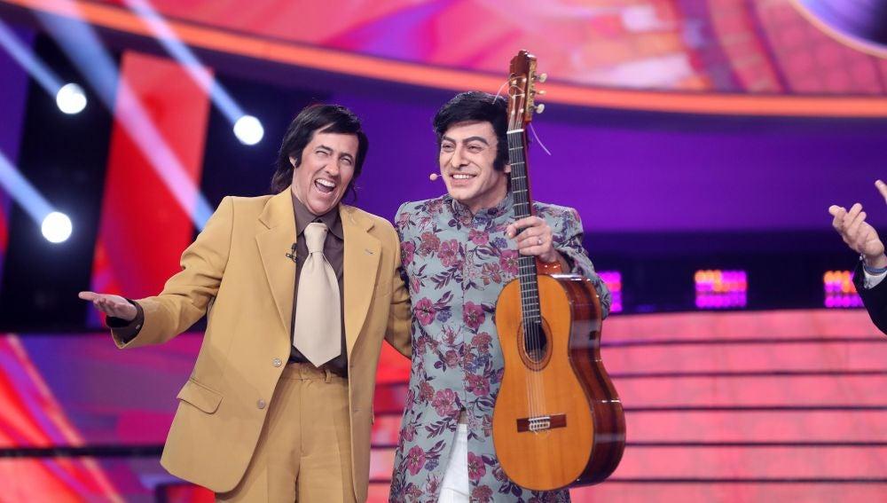 Rocío Madrid y Javi Cantero homenajean a El Fary con 'Carabirubí'