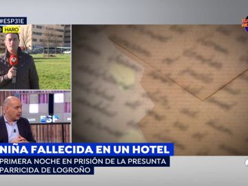 Niña fallecida en un hotel