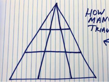 Nuevo reto viral en las redes sociales: ¿Cuántos triángulos ves en esta foto?