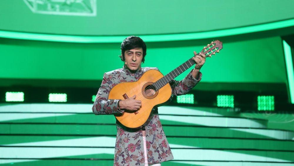 Javi Cantero conquista con 'Una lágrima' como Peret