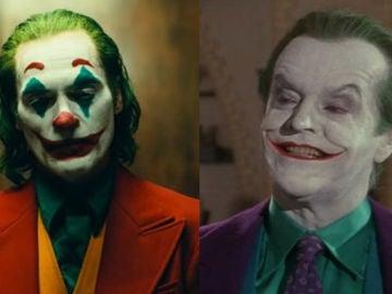 El Joker de Joaquin Phoenix y el Joker de Jack Nicholson
