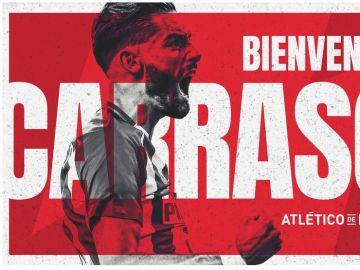 Carrasco, nueva incorporación del Atlético de Madrid