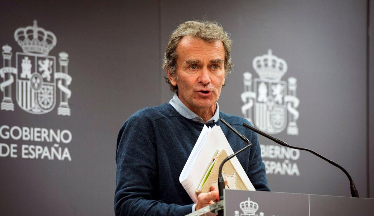 El director del Centro de Coordinación de Emergencias de Sanidad, Fernando Simón