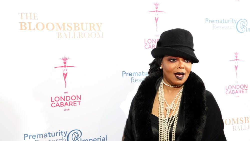 Hacía mucho que no veíamos a Janet Jackson