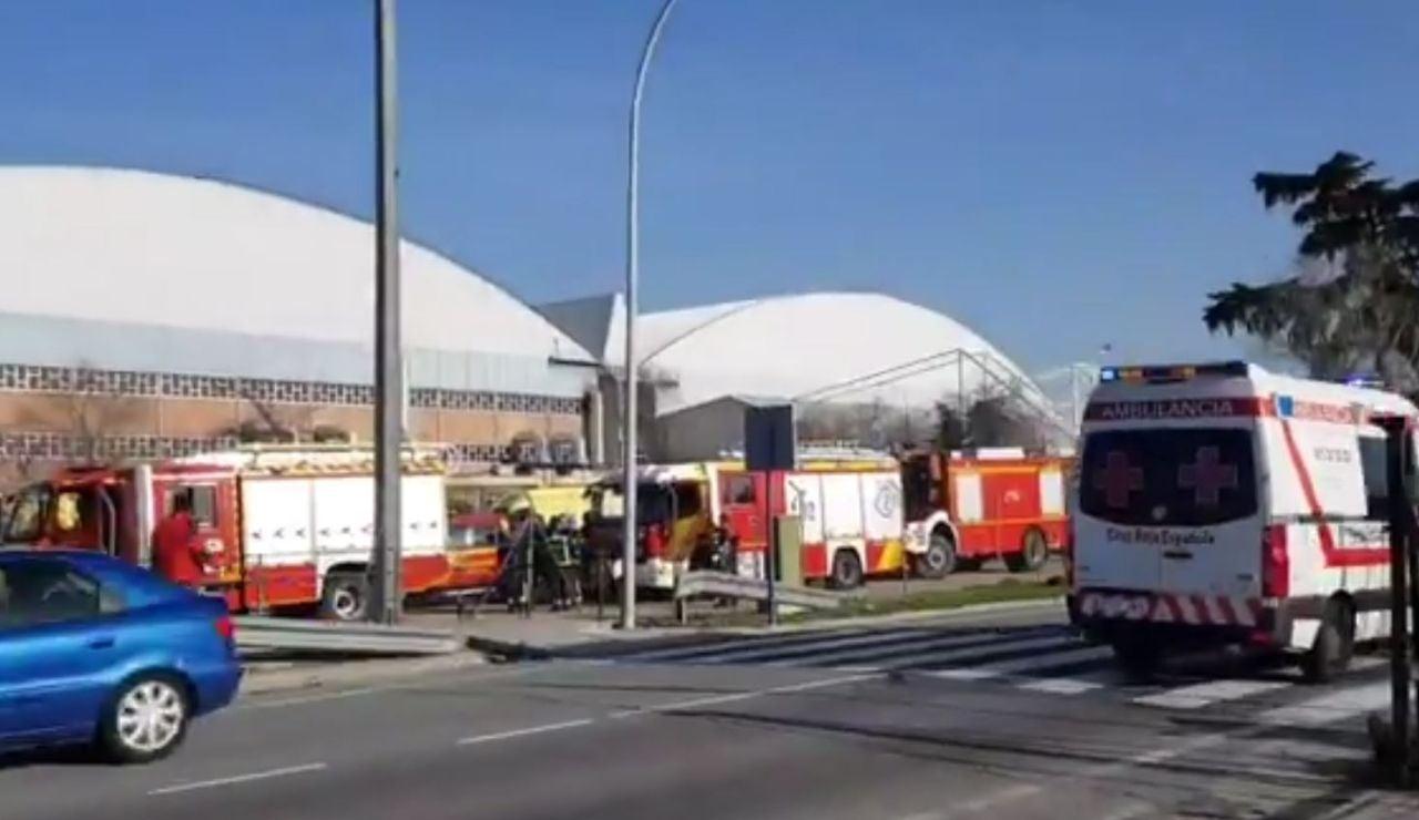 Aterrizaje de emergencia Barajas