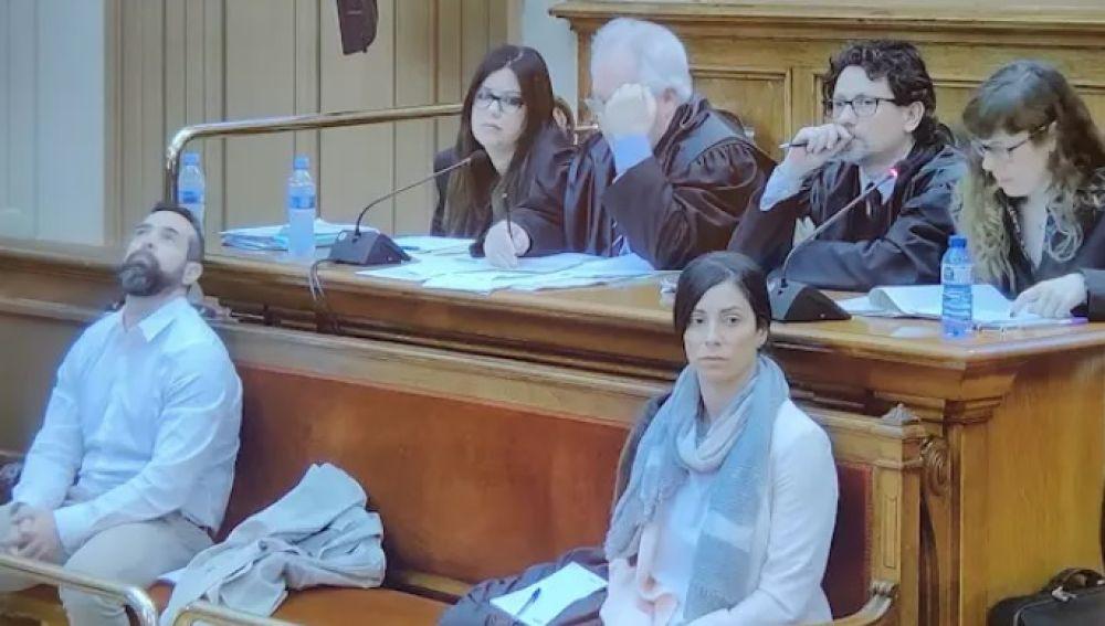 Albert López y Rosa Peral en el juicio del crimen de la Guardia Urbana