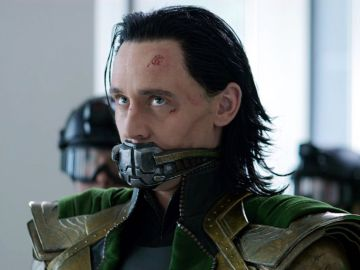 Tom Hiddleston como Loki en 'Vengadores: Endgame'