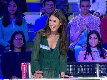 La divertida anécdota de una concursante sobre cómo se pone en la cola del supermercado en 'La ruleta de la suerte'