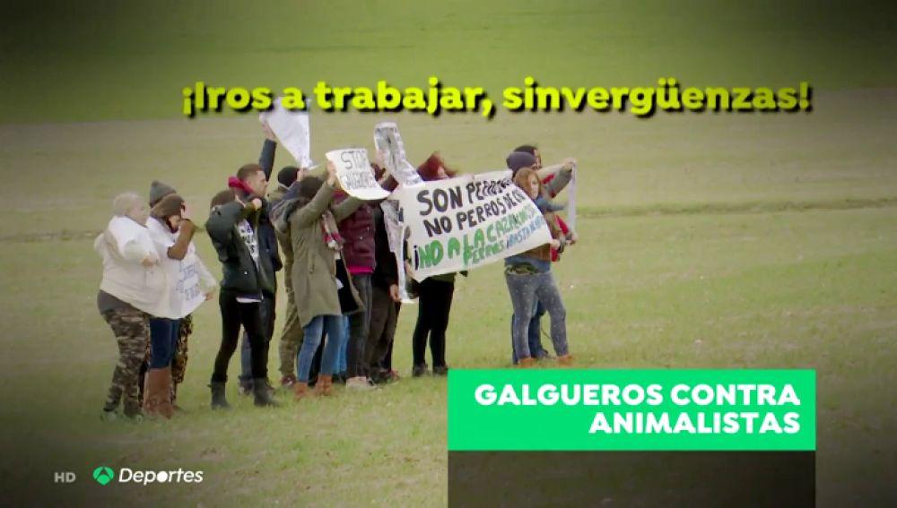 """Animalistas contra cazadores, guerra en el campo: """"¡Iros a trabajar, perroflautas!"""""""