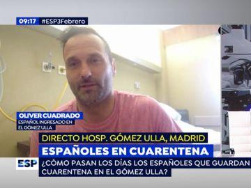 """Así viven la cuarentena por el coronavirus los españoles ingresados en el Gómez Ulla: """"Nos han dejado claro que somos personas sanas"""""""