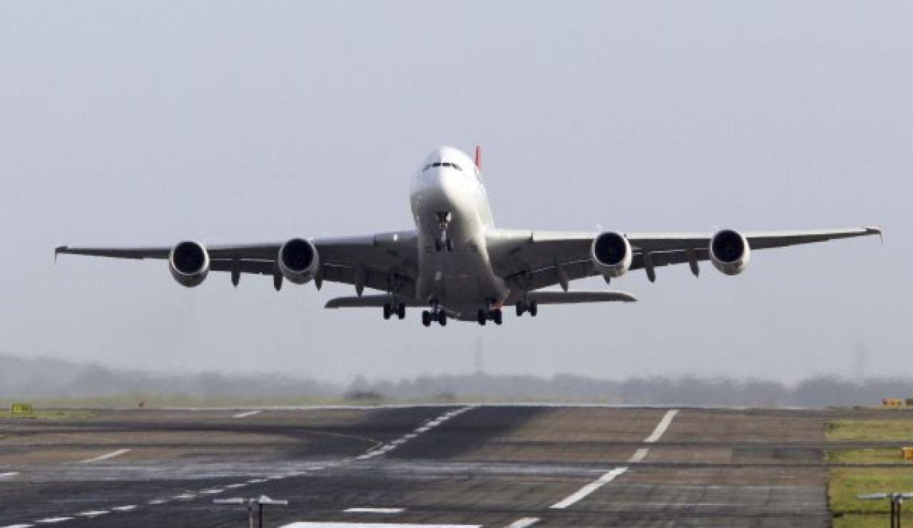 Avión en Barajas