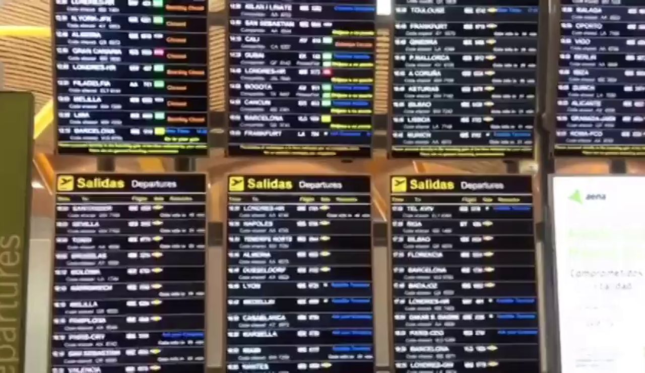 Todos los vuelos desviados tras la presencia de drones en el aeropuerto Adolfo Suárez Madrid-Barajas