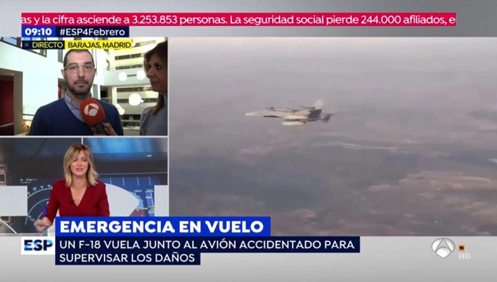 Así vivieron los pasajeros la angustía y la alegría tras el aterrizaje