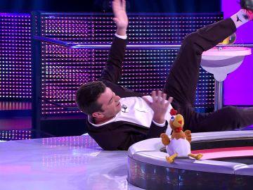 Arturo Valls se busca un doble para sus escenas de acción en '¡Ahora caigo!'