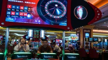 Una niña abandonada en un casino de  Las Vegas