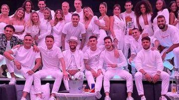 Todos los invitados a la fiesta de cumpleaños de Neymar