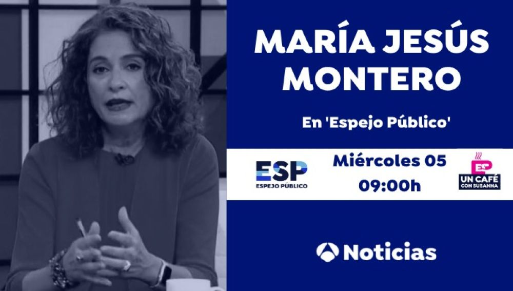 Un café con María Jesús Montero
