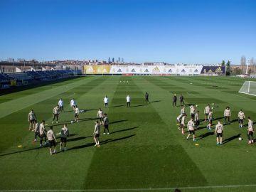 Campo de entrenamiento del Real Madrid en Valdebebas.