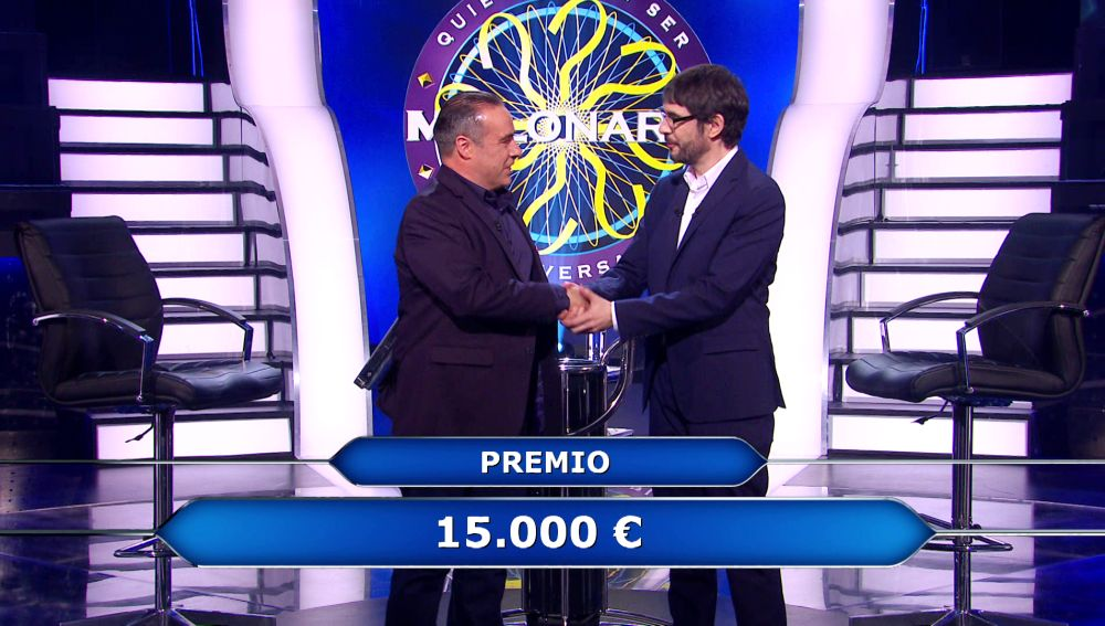 La fruta de la mandrágora deja a Enrique Chicote sin repetir gesta en '¿Quién quiere ser millonario?'