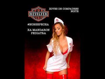 Carnaval Verín 2020: Polémica por el cartel de un pub que usó una imagen sexista