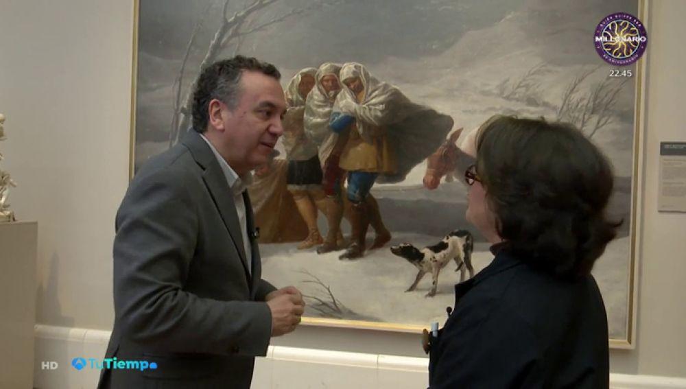Roberto Brasero se cuela en el Museo del Prado y nos cuenta cómo eran los inviernos de la mano de Goya