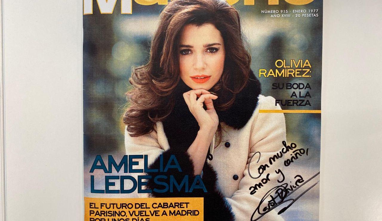 Consigue la revista que protagoniza Amelia Ledesma firmada por Carol Rovira