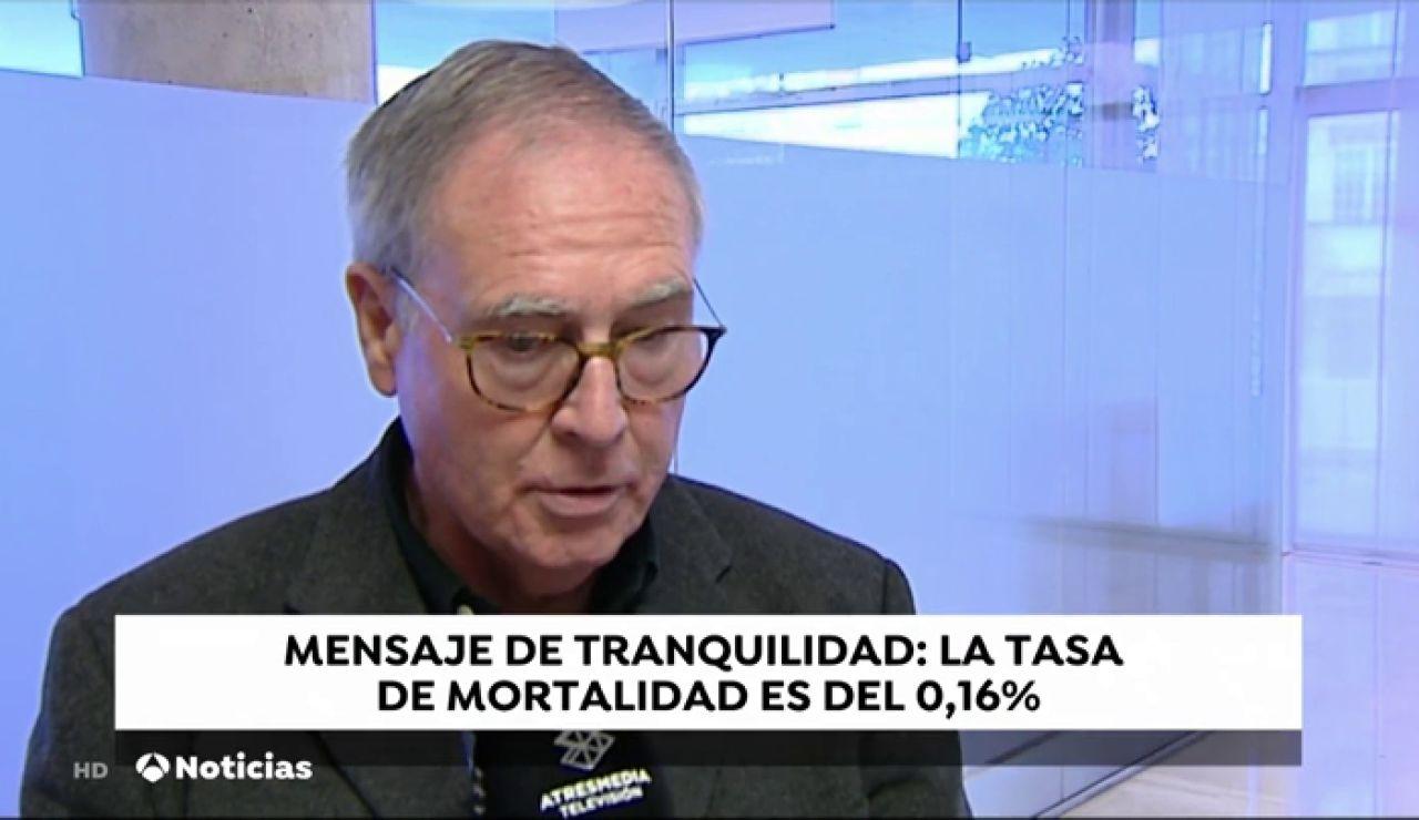 """El presidente de la Asociación Española de Virología: """"El alarmismo hace al coronavirus más grave de lo que es"""""""