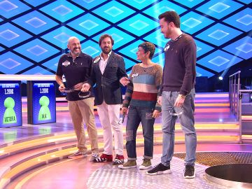 La divertida eliminación de Manolo, de 'Los dispersos', por 'Los atrápame' en '¡Boom!'