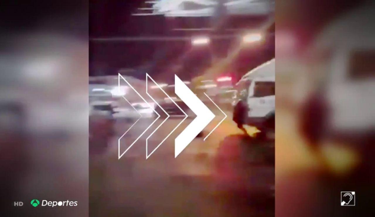 Arde Chile tras el atropello mortal de un aficionado de Colo-Colo