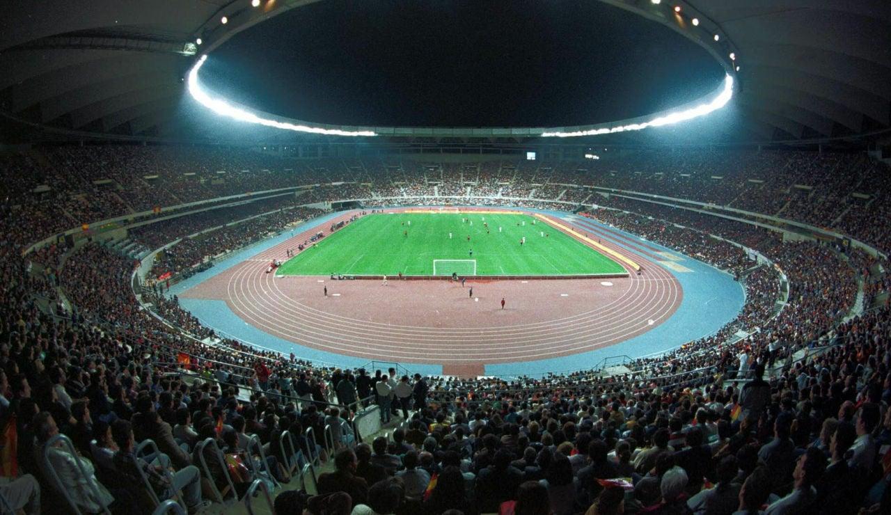 Estadio de la Cartuja, en Sevilla