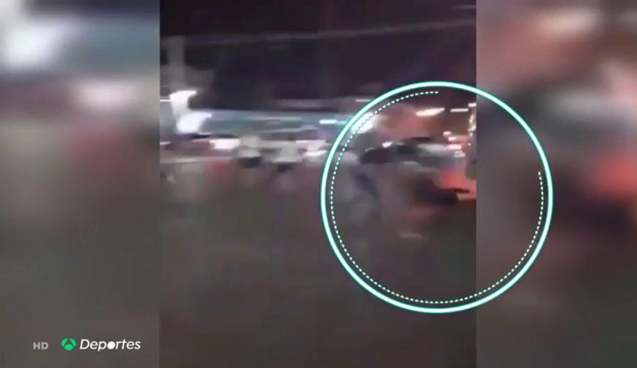 El escalofriante momento del mortal atropello a Jorge Mora, hincha del Colo-Colo, por parte de un furgón policial