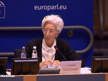 """Christine Lagarde avisa de que el impacto del coronavirus es """"fuente de preocupación"""""""