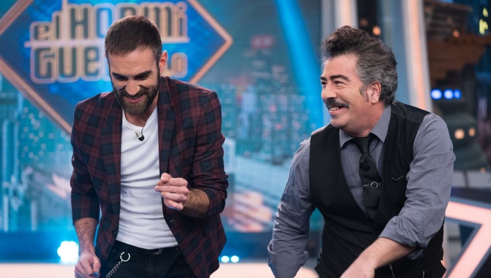 Disfruta de la entrevista completa a Jon Plazaola y Agustín Jiménez en 'El Hormiguero 3.0'