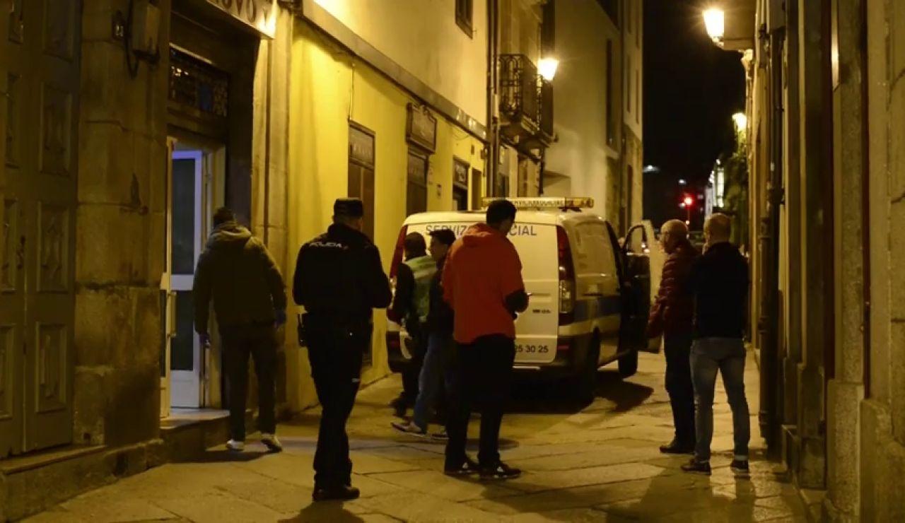 Aparece muerto,con signos de violencia, el dueño de un bar de Ourense