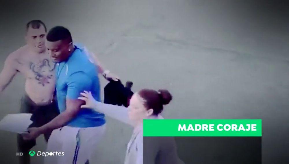 La 'madre coraje' defiende a Kevin tras su intento de agresión a un árbitro