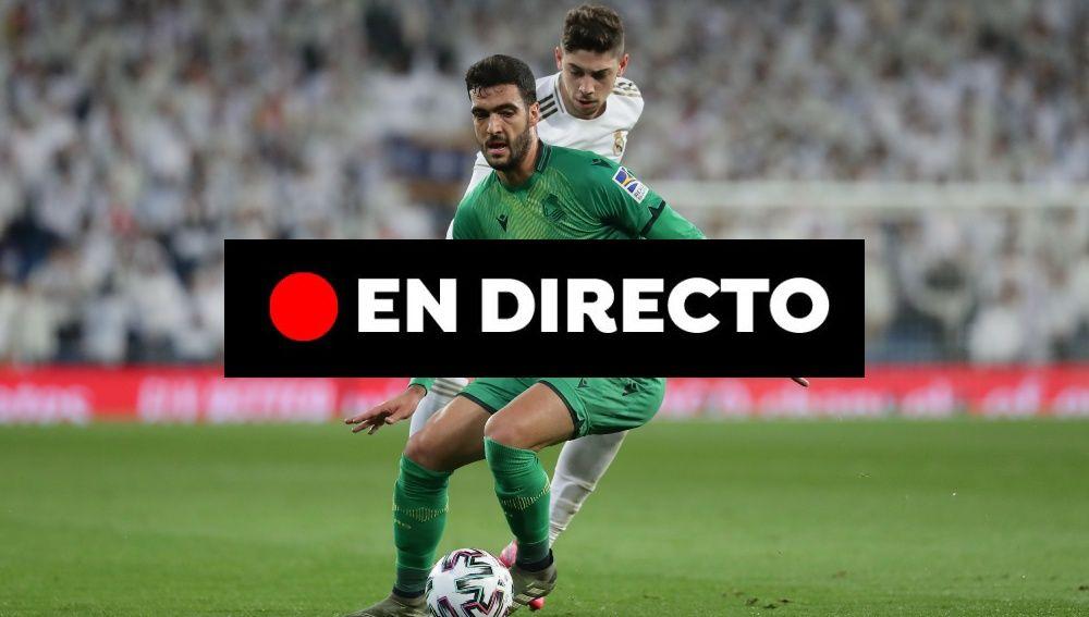 Real Madrid - Real Sociedad: Resultado y goles del partido de hoy de la Copa del Rey 2020, en directo