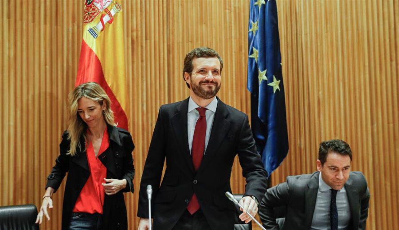 Pablo Casado con Cayetana Álvarez de Toledo