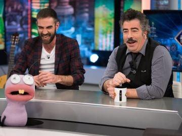 Trancas y Barrancas ponen a prueba la sinceridad de Jon Plazaola y Agustín Jiménez en 'El Hormiguero 3.0'
