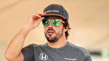 Fernando Alonso cuando McLaren todavía usaba motor Honda