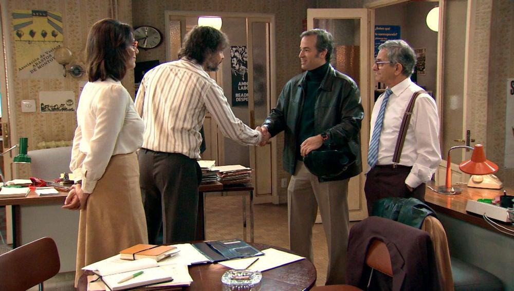 Cris, Guillermo y Quintero encuentran abogado que les represente