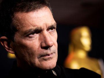 Antonio Banderas afirma estar muy tranquilo y dice haber acudido a Hollywood a disfrutar