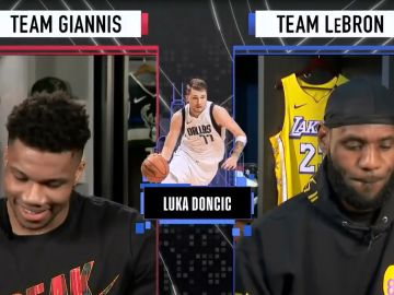 Giannis - Lebron James All Star
