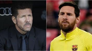 Simeone y Messi, los mejor pagados
