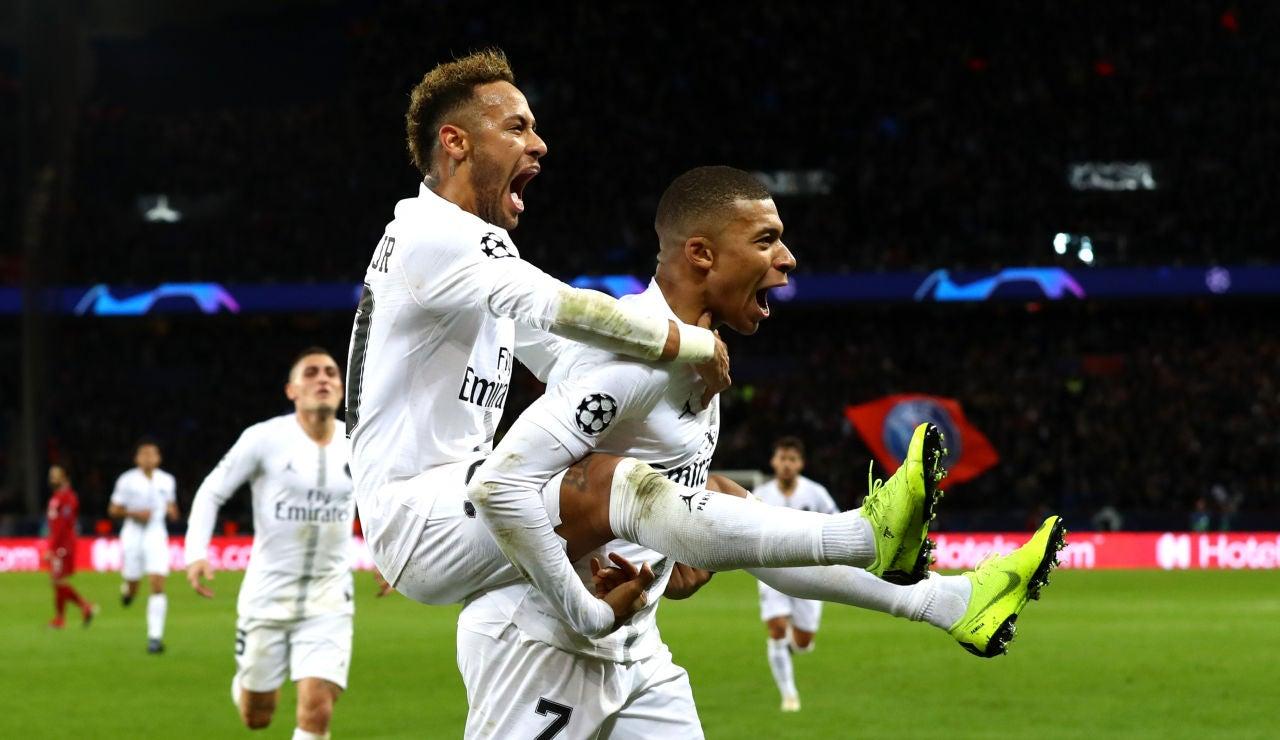 Neymar y Mbappe encabezan la lista de mejores pagados de Francia
