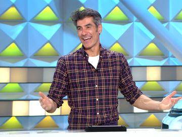 """Me gusta comer muchos huevos"": Jorge Fernández se sincera en 'La ruleta de la suerte'"